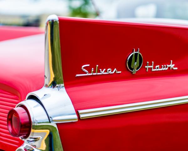 1959 Studebaker Silver Hawk Tailfin Photography Art | Happy Hogtor Photography