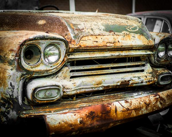 Old Ice Cream Truck Photography Art | Happy Hogtor Photography