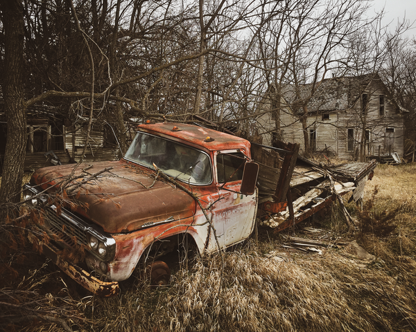 Lloyd's Truck Photography Art | Happy Hogtor Photography