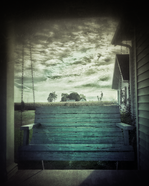 Grandma's Porch Photography Art | Happy Hogtor Photography