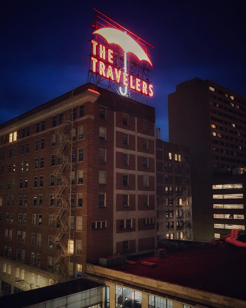 The Travelers Building Photography Art | Happy Hogtor Photography
