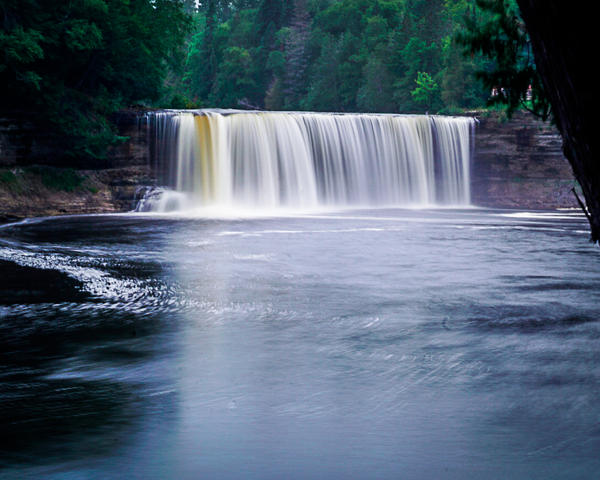 Tahquamenon Falls 2 Photography Art | Happy Hogtor Photography