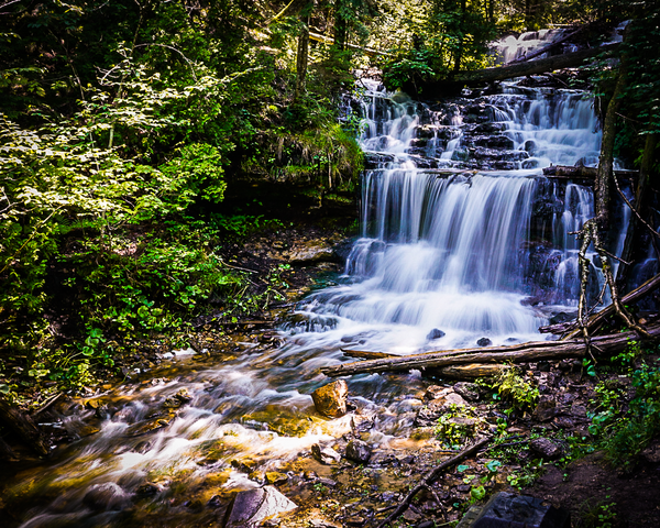 Wagner Falls Munising, Mi 2 Photography Art | Happy Hogtor Photography
