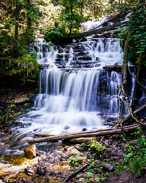 Wagner Falls Munising, Mi Photography Art | Happy Hogtor Photography