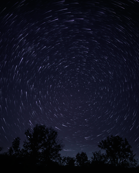 Star Trails At Red Rock Photography Art | Happy Hogtor Photography