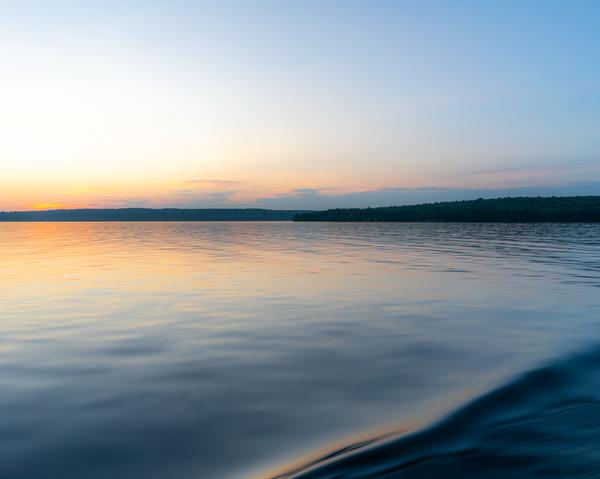Lake Superior At Sunset Photography Art   Happy Hogtor Photography