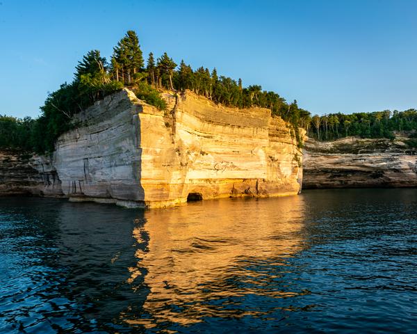 Pictured Rocks Battleship Row Photography Art | Happy Hogtor Photography