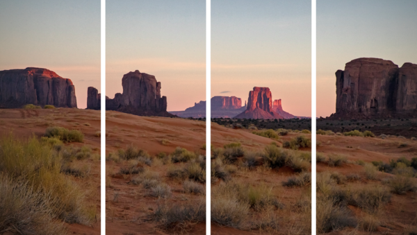 Monument Valley At Sunset Photography Art | dougbusby