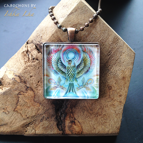 Falcon Victorious   Necklace | The Art of Ishka Lha