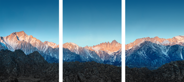 Eastern Sierras Sunrise Photography Art | Chad Wanstreet Inc