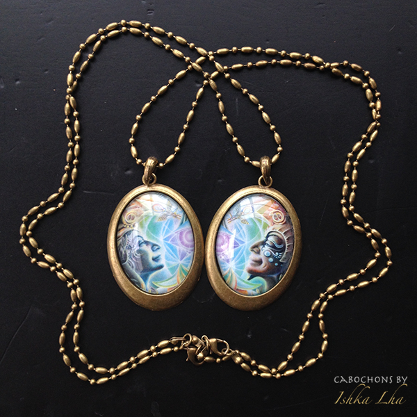Soulmates   French Oval Necklace | Ishka Lha