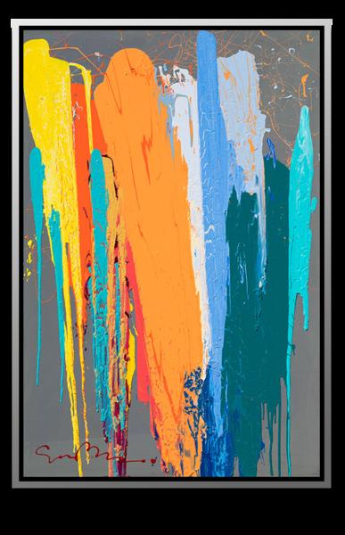 """Simon Bull Available Original Painting - """"Anastasia"""""""