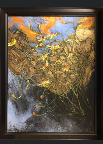 LaMont Sudduth - impressionism - Asters