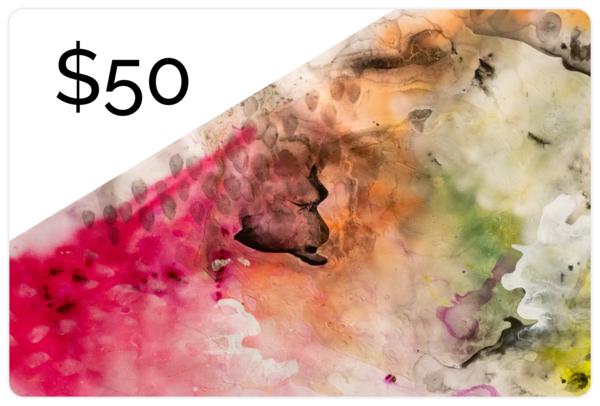 $50 Gift Card | Makiko Harris Art
