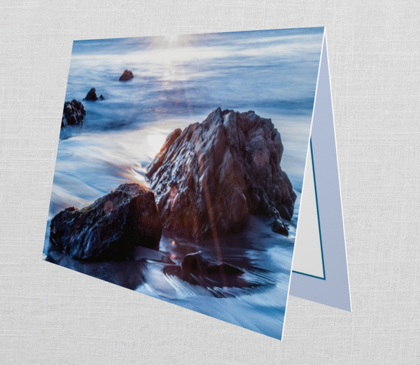 Malibu Blank Greeting Card (Set Of 10)   Tamea Travels