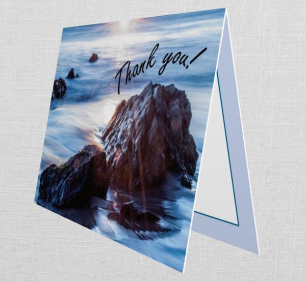 Malibu Thank You Card (Set Of 10)   Tamea Travels