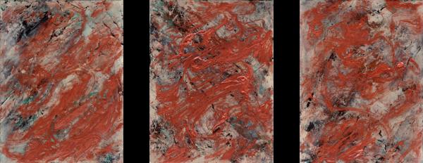 Burnish (Triptych Original) Art | Michelle Lee Arts