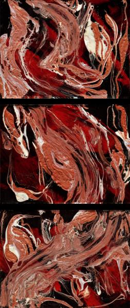 Go Deep (Triptych Original) Art | Michelle Lee Arts