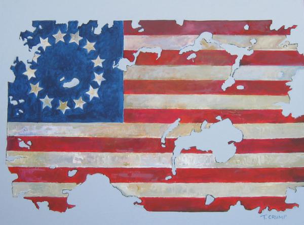Independence Flag Art | terrycrump