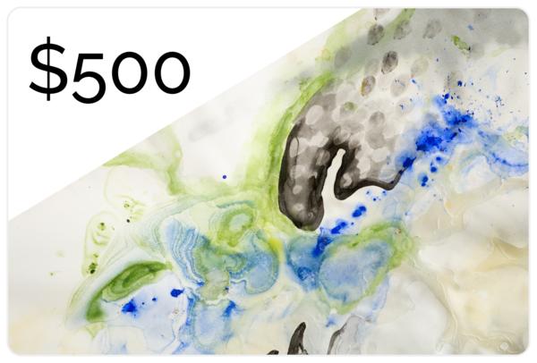 $500 Gift Card | Makiko Harris Art