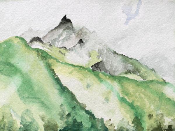 'Alaskan Mist' Art for sale.
