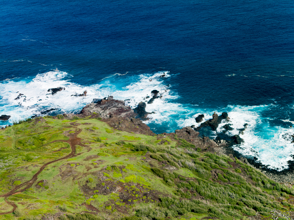 Aerial West Maui  Photography Art   Eric Hatch