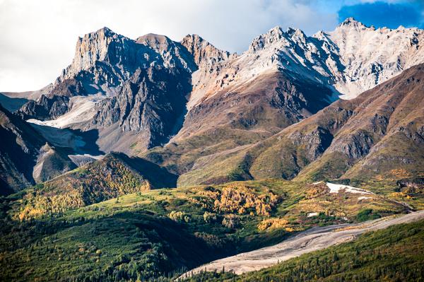 Alaska Aerial Bonanza Ridge Photography Art | Eric Hatch