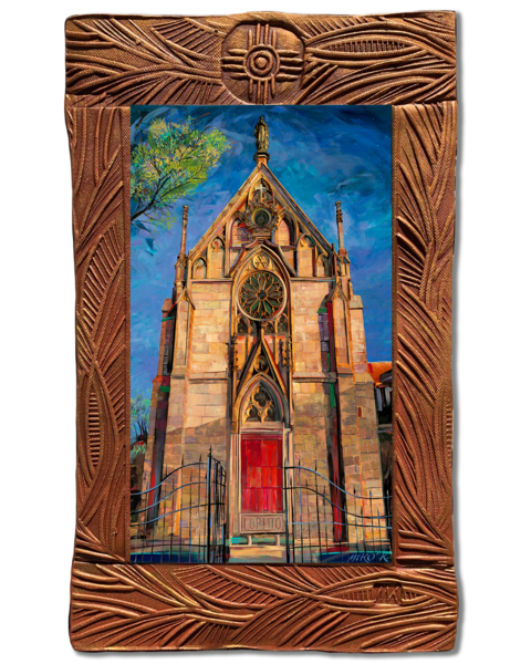 Loretto Chapel I New Mexico Collection Art | KenarovART Inc