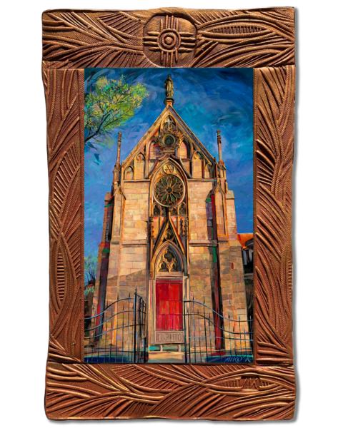 Loretto Chapel | Canvas On Clay Art | KenarovART Inc