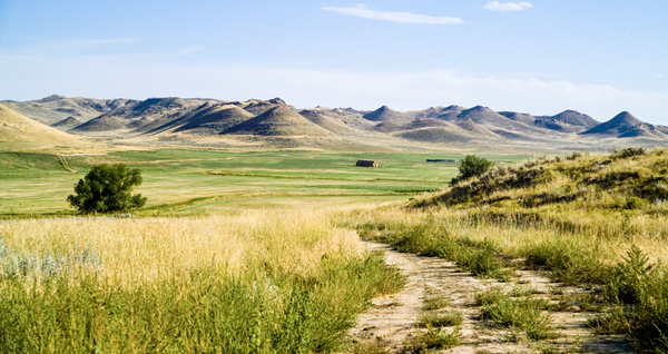 Wyoming Ranch Road  Photography Art | Eric Hatch