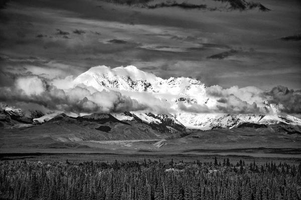 Dsc 3873  Mt Wrangell Bw 12x18 Copy1 Photography Art | Eric Hatch