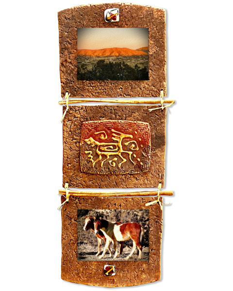 Wild Horses/Mixed Media Art | KenarovART Inc