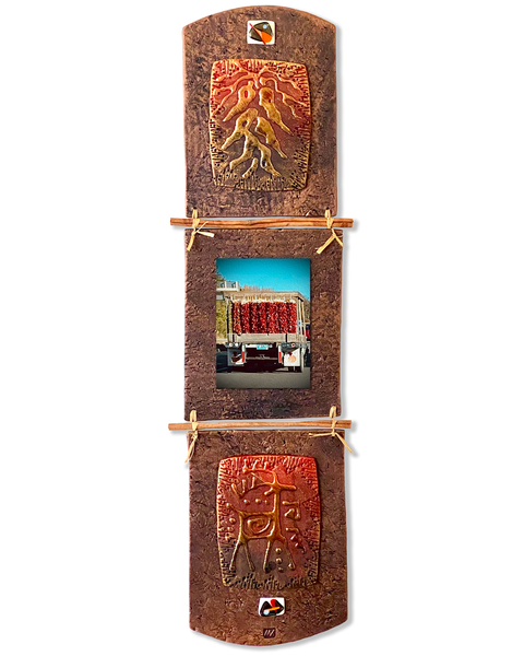 Chilli Truck/Mixed Media Art | KenarovART Inc