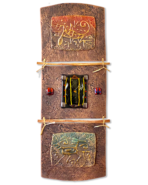 Desert Symbols/Mixed Media Art | KenarovART Inc