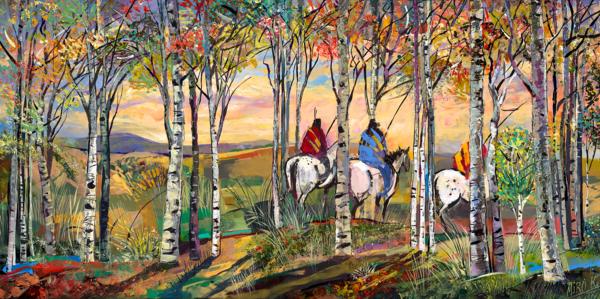 At Dusk/Art On Canvas Art | KenarovART Inc