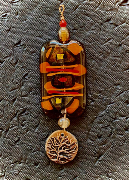 Tree Of Life I | Fused Glass & Ceramic Art | KenarovART Inc