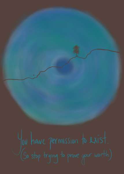 Permission to exist - art for marginalized people