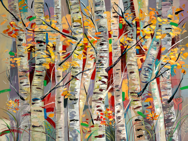 Aspens Melody/Art On Paper Art | KenarovART Inc