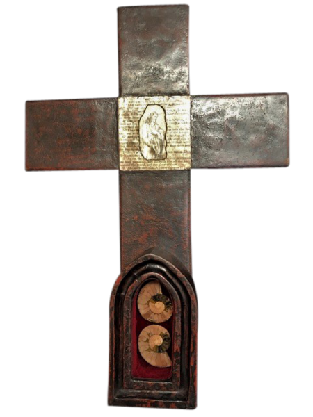 Everlasting Life Cross Reliquary Art | Sacred Structures