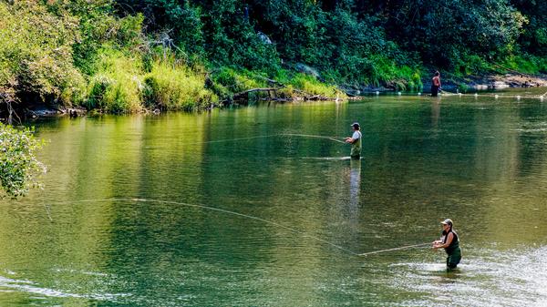 Salmon Fishing  Photography Art | Eric Hatch
