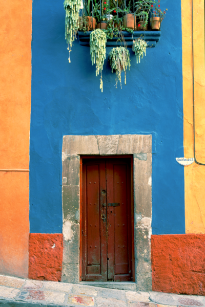 Art Print San Miguel de Allende Mexico Mood Wall
