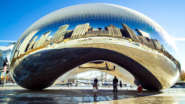 Chicago Bean In Winter Photography Art | Eric Hatch