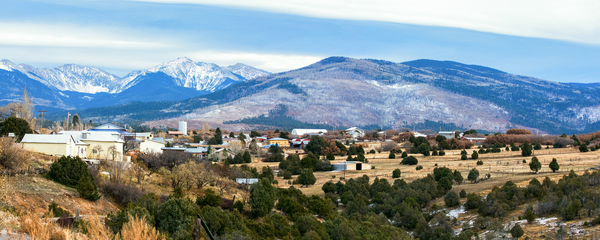 Las Truchas Nm First Snow Pano Photography Art | Eric Hatch