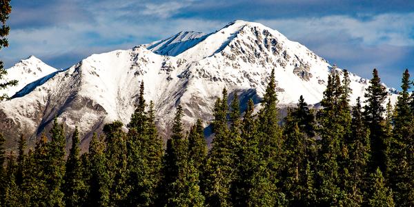 Alaska Mt Sanborn Panorama Photography Art | Eric Hatch