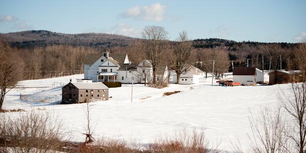 Vermont Farm In Winter Photography Art | Eric Hatch