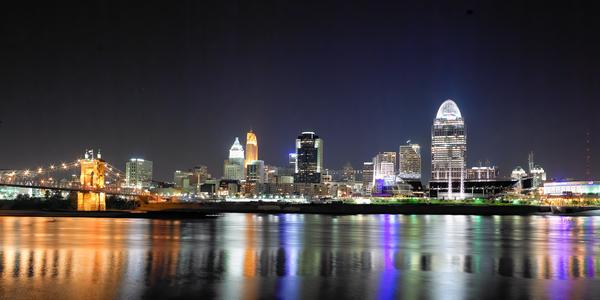 Cincinnati By Night Number 1 Photography Art | Eric Hatch