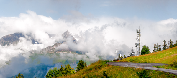 Panoramic View From La Rosiere France Photography Art | Eric Hatch