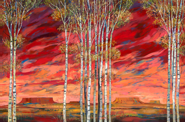 Windy Day/Art On Canvas Art | KenarovART Inc