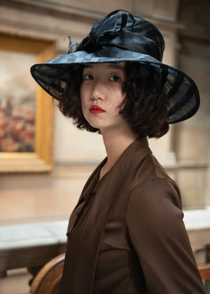 Woman In A Black Hat Photography Art | Eric Hatch