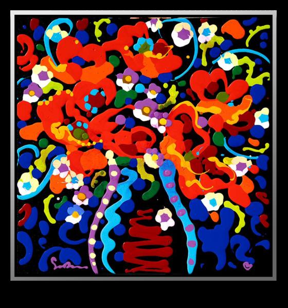 "Simon Bull Available Original Painting - ""Fresh Cut Flowers"""